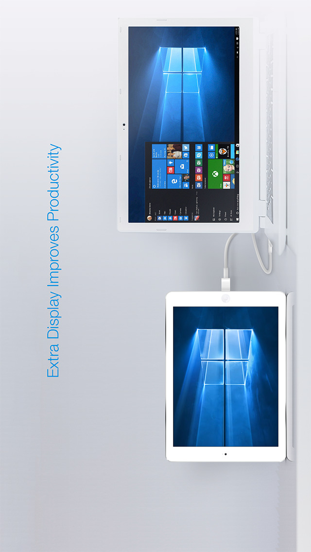 Iphone giveaway of the day splashtop wired xdisplay for Mirror your phone to pc