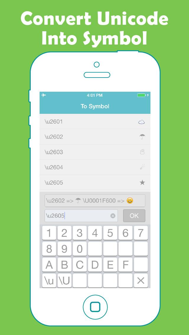 iPhone Giveaway of the Day - Unicode Converter - Convert Between