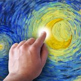 Starry Night Interactive Animation Giveaway