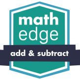 MathEdge Add and Subtract Giveaway