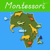 Animals of Africa - Montessori Geography Giveaway