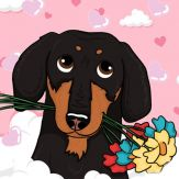 CrusoeMoji - Dachshund sticker Giveaway