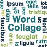 Word Collage Giveaway