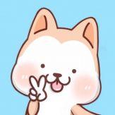 Hachi:Akita Dog Animated Emoji Giveaway