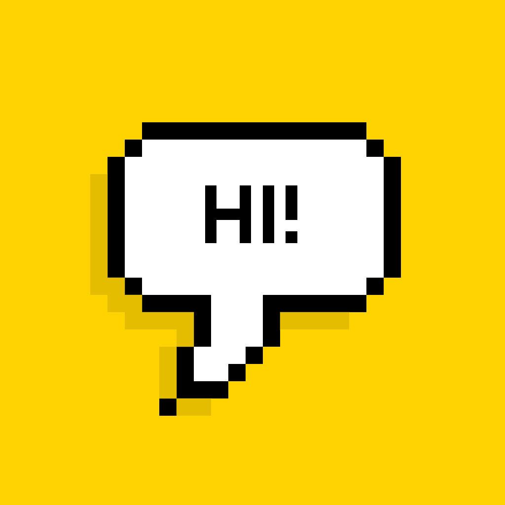 Пиксельная надпись как сделать