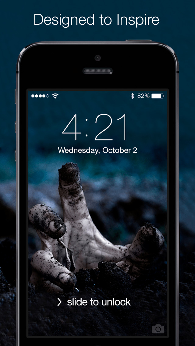 Iphone Giveaway Of The Day Real Horror Wallpapers