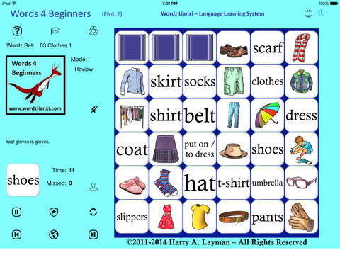 iPhone Giveaway of the Day - English Words 4 Beginners