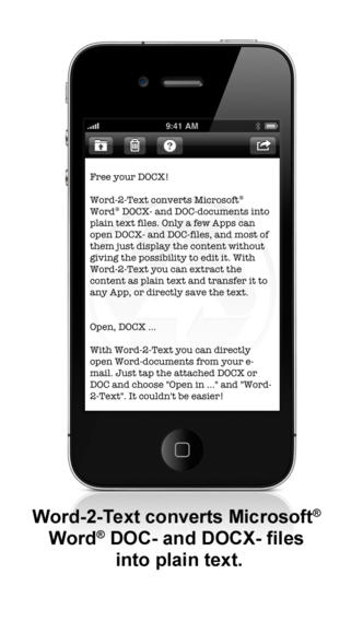 Iphone giveaway of the day word 2 text converter - How to open docx files without office ...