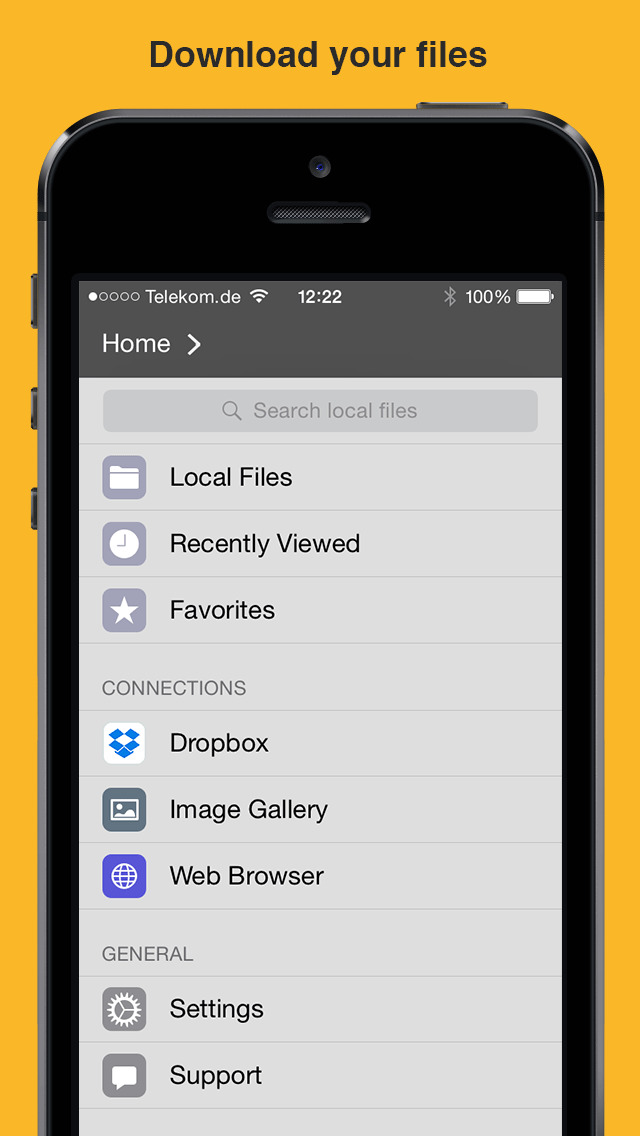 iPhone Giveaway of the Day - File Manager App