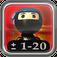 Flashcard Ninja 1-20