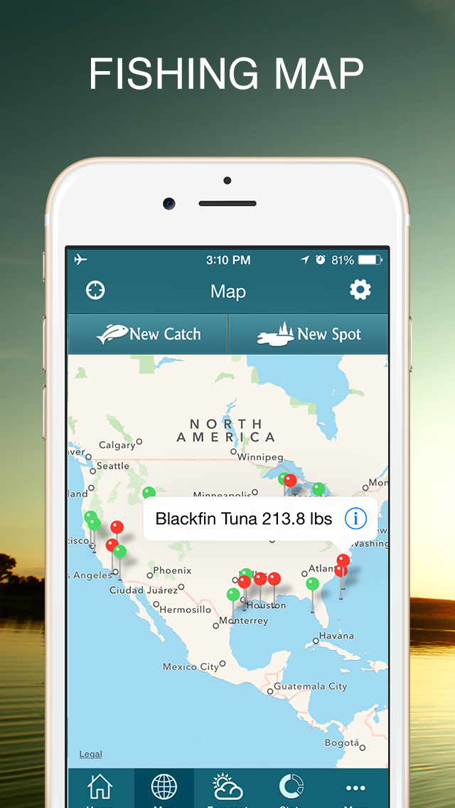 Iphone giveaway of the day fishbox for Tides for fishing app