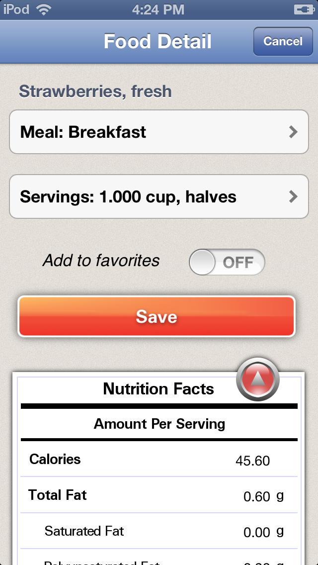 Diet & Food Tracker