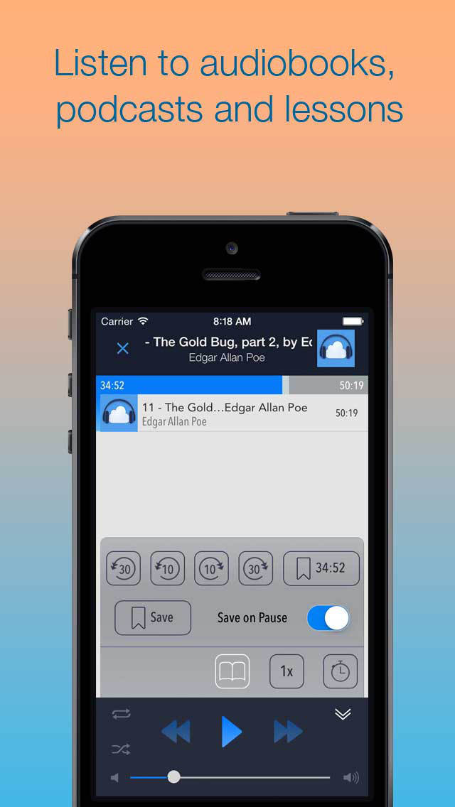 iPhone Giveaway of the Day - CloudBeats - Cloud Music Player