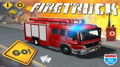 iPhone Giveaway of the Day - Kids Vehicles Fire Truck games
