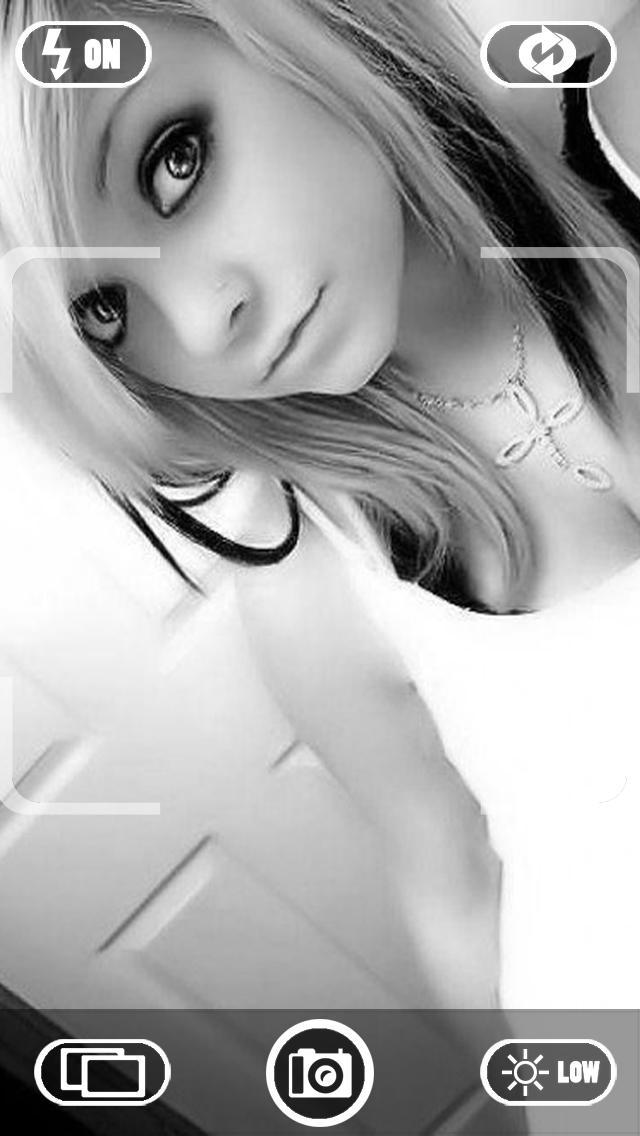 Эмо девушка блондинка 1 фотография
