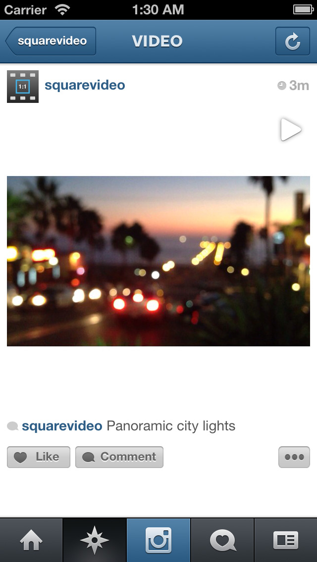 iPhone Giveaway of the Day - Square Video for Instagram