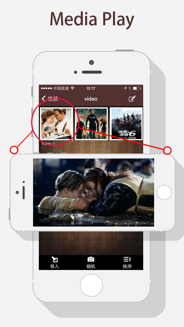 how to share google drive videos to instagram on iphone