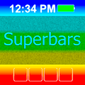 Superbars: change the look of your Home & Lock screens