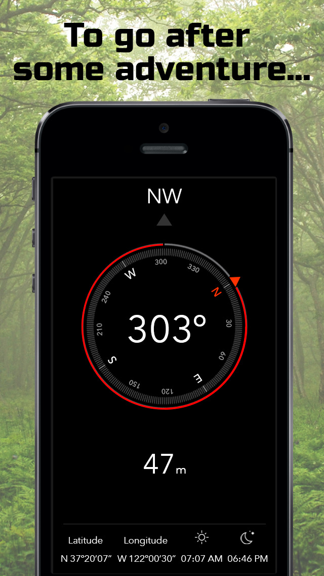 how does iphone compass work iphone giveaway of the day heading compass altimeter 17028