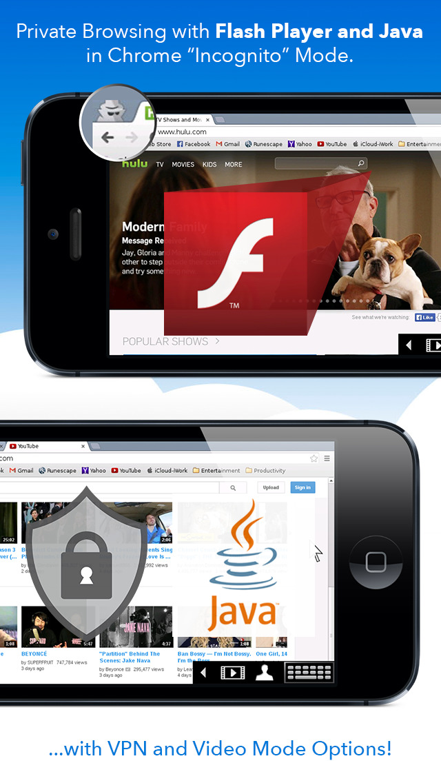 how to download flash player on iphone