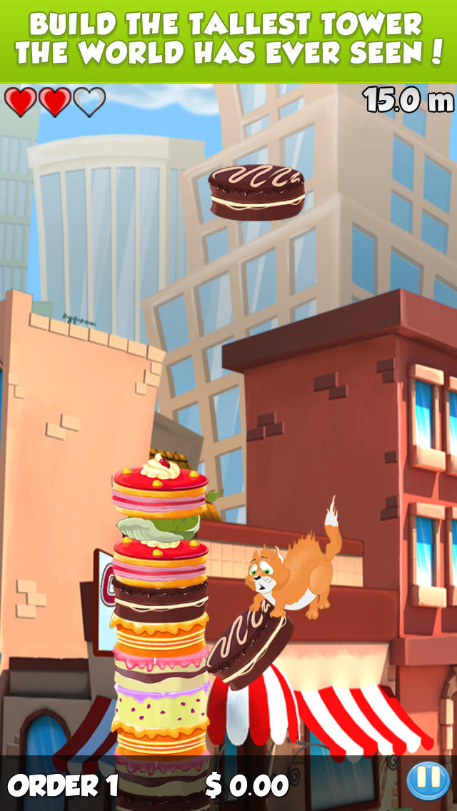 iPhone Giveaway of the Day High Cake Cake Tower Mania