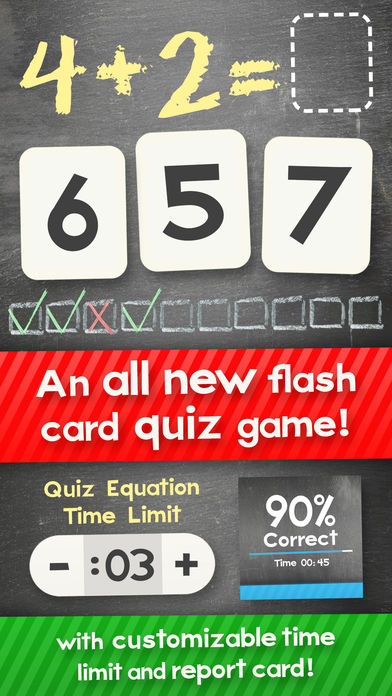iphone giveaway of the day addition flash cards math help quiz