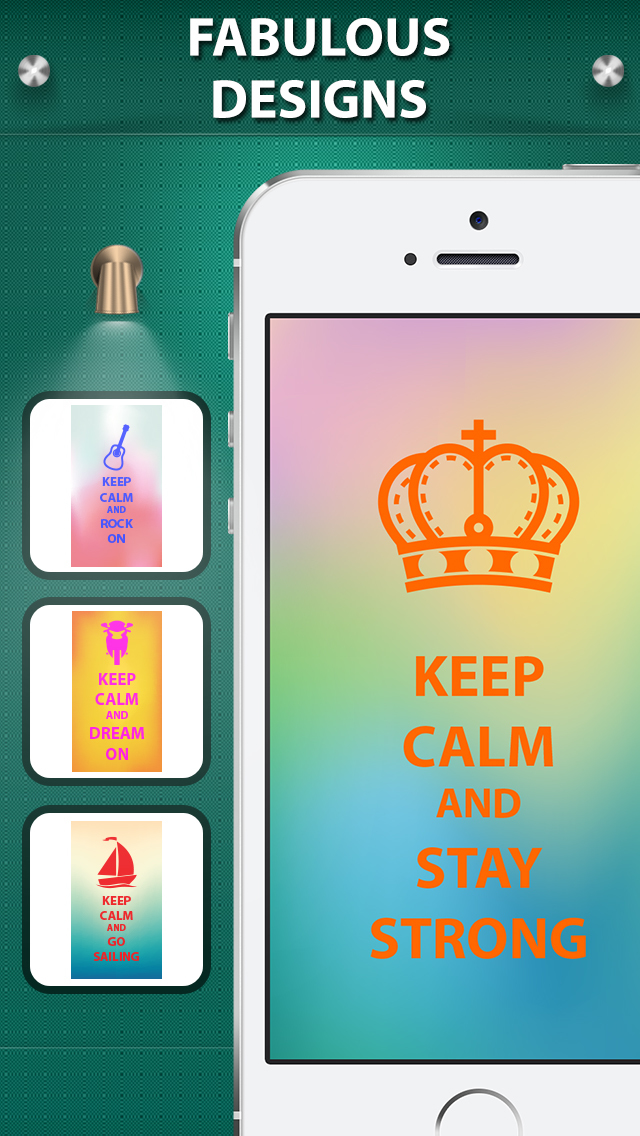 Iphone Giveaway Of The Day Keep Calm Wallpaper Background