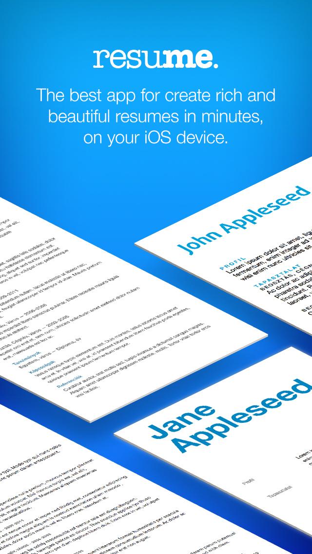 download resume maker pro cv designer - Resume Maker Pro