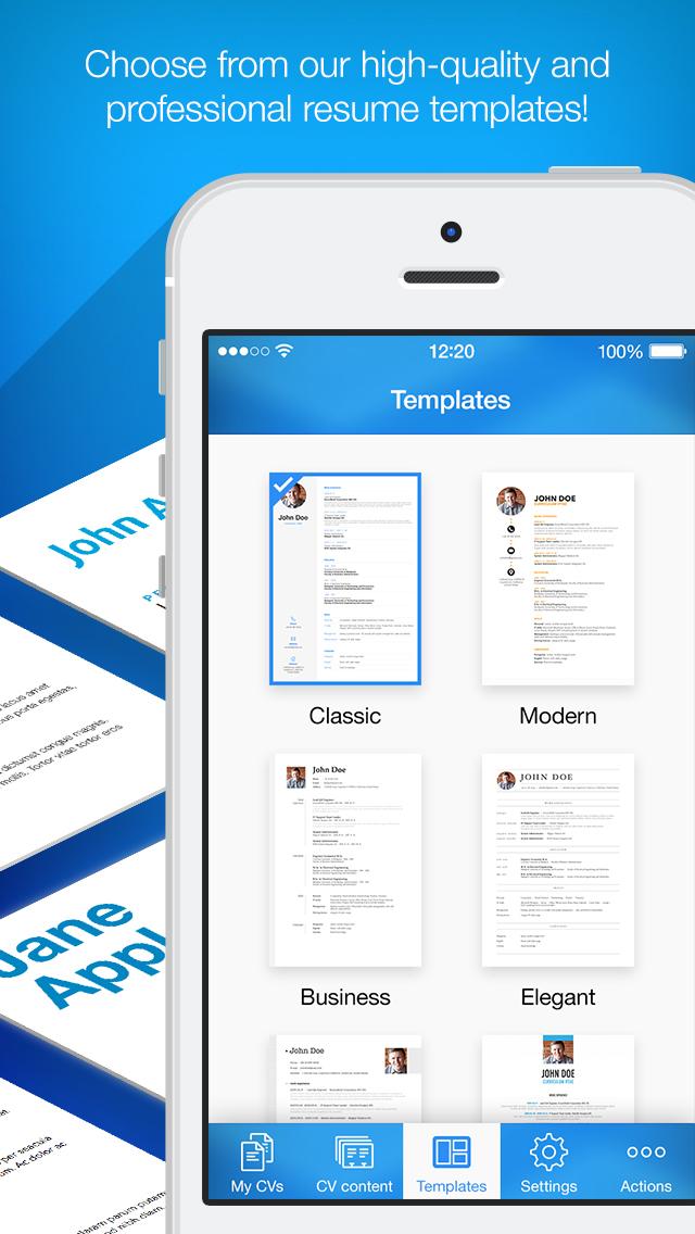 iphone giveaway of the day resume maker pro cv designer - Resume Maker Pro