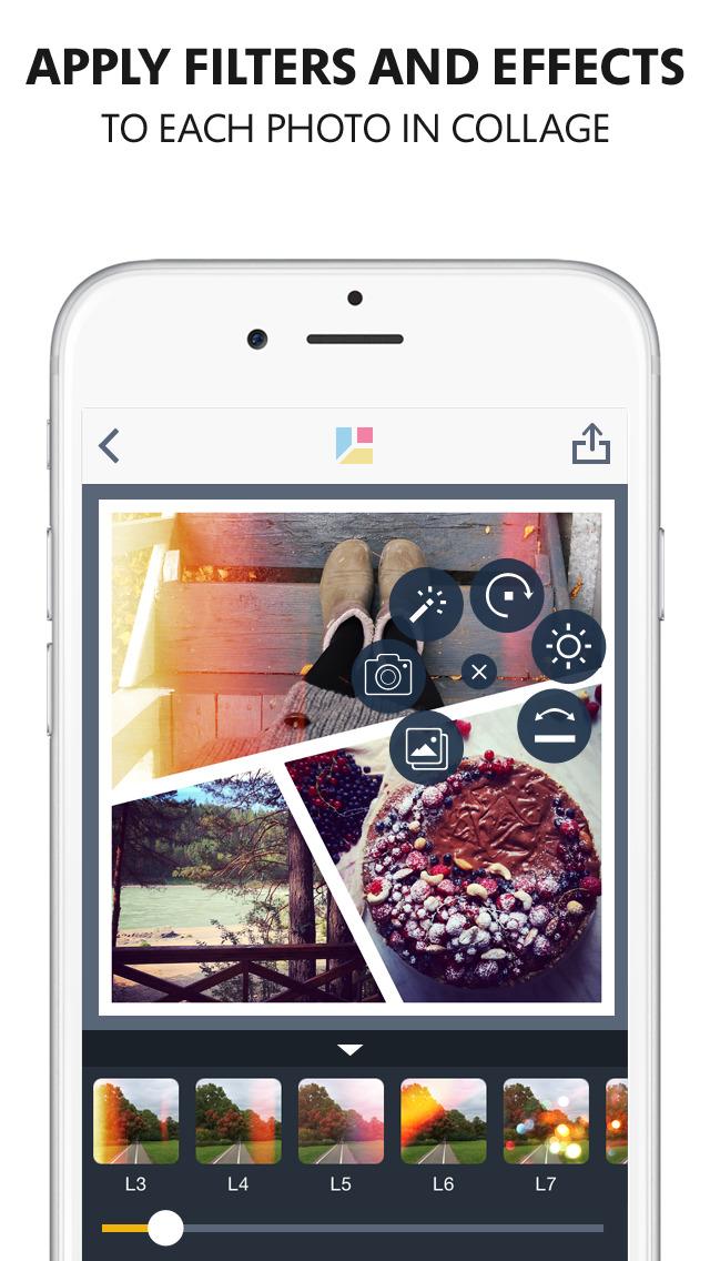 настоящей коллаж из фотографий своими руками в айфоне следить кожей